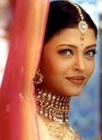 Aishwarya Rai in Indian traditional outfit