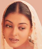 Aishwarya Rai in young in a traditional Indian dress