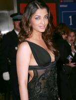 Aishwarya Rai  in an elegant black gown