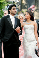 Aishwarya Rai with her husband at 60th Annual Cannes Film Festival 2009