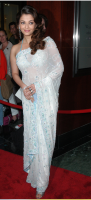 Aishwarya Rai in her Indian gown on the red carpet
