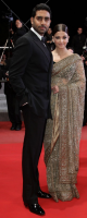 Aishwarya Rai with husband on the red carpet.PNG