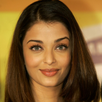 Extreme close up face picture of Aishwarya Rai famouse Indian movie star.PNG